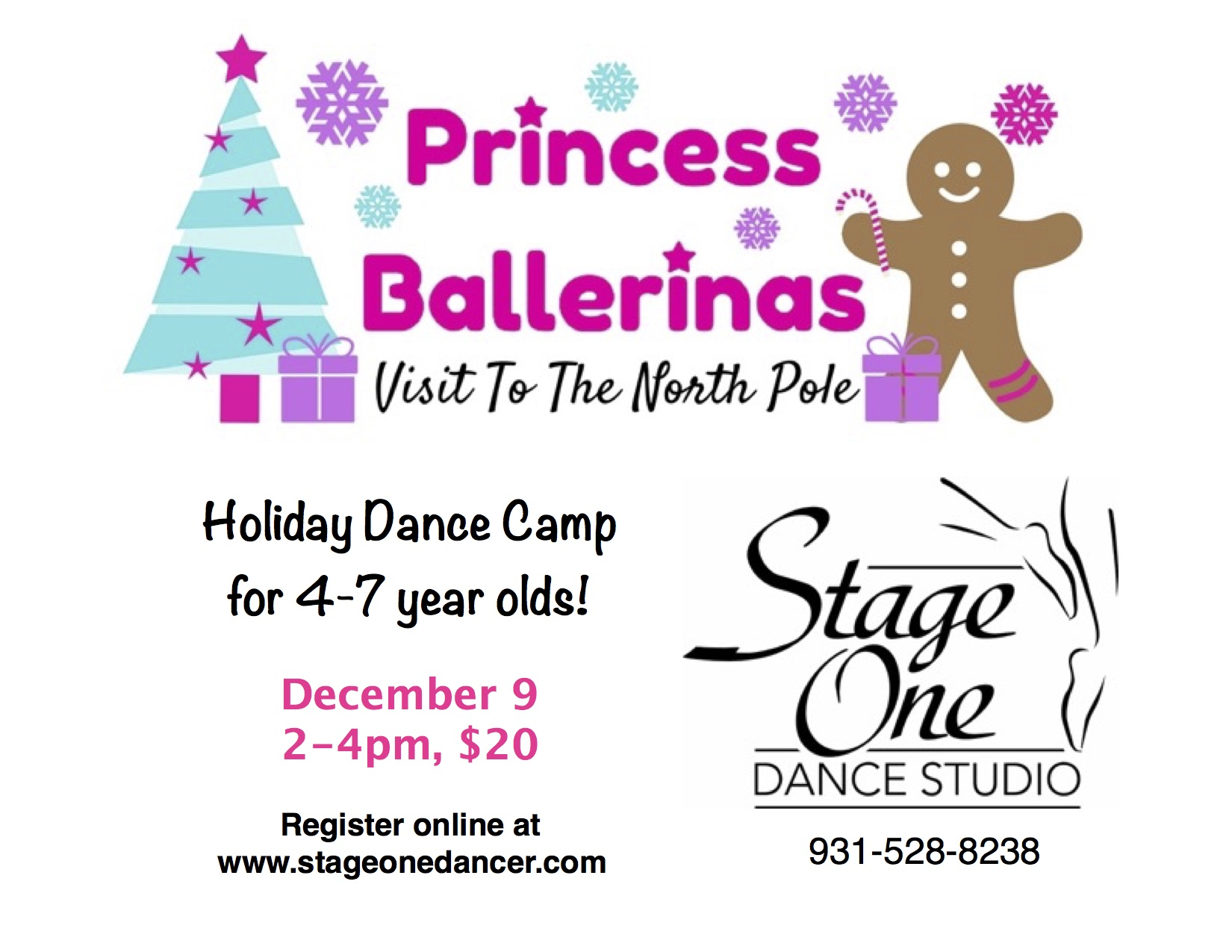 Holiday Dance Camp 2017